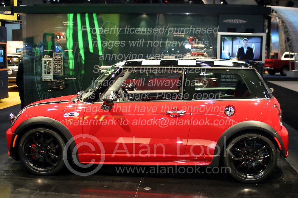 09 February 2006:  2007 Mini Cooper.....Chicago Automobile Trade Association, Chicago Auto Show, McCormick Place, Chicago IL