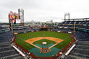 27 Sept 2008:  A view of Citizens Bank Park Before the game against the Washington Nationals on September 27th, 2008. The Phillies won 4-3 to clinch the National League Eastern Division title at Citizens Bank Park in Philadelphia, Pennsylvania