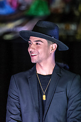 "ANAHEIM, CA - FEB 22: Singer Luis Coronel came to support his brother Bebe Coronel at the press preview for the upcoming show ""Vaselina El Musical USA"" at the M3 Live February 22, 2016 in Anaheim, California. Luis Coronel will perform during the show debut March 19, 2016 at the M3 Live. Byline, credit, TV usage, web usage or linkback must read SILVEXPHOTO.COM. Failure to byline correctly will incur double the agreed fee. Tel: +1 714 504 6870."