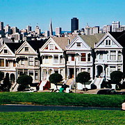Victorians on Alamo Square