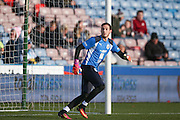 Huddersfield Town goalkeeper, on loan from Liverpool, Danny Ward (1)  during the EFL Sky Bet Championship match between Huddersfield Town and Birmingham City at the John Smiths Stadium, Huddersfield, England on 5 November 2016. Photo by Simon Davies.