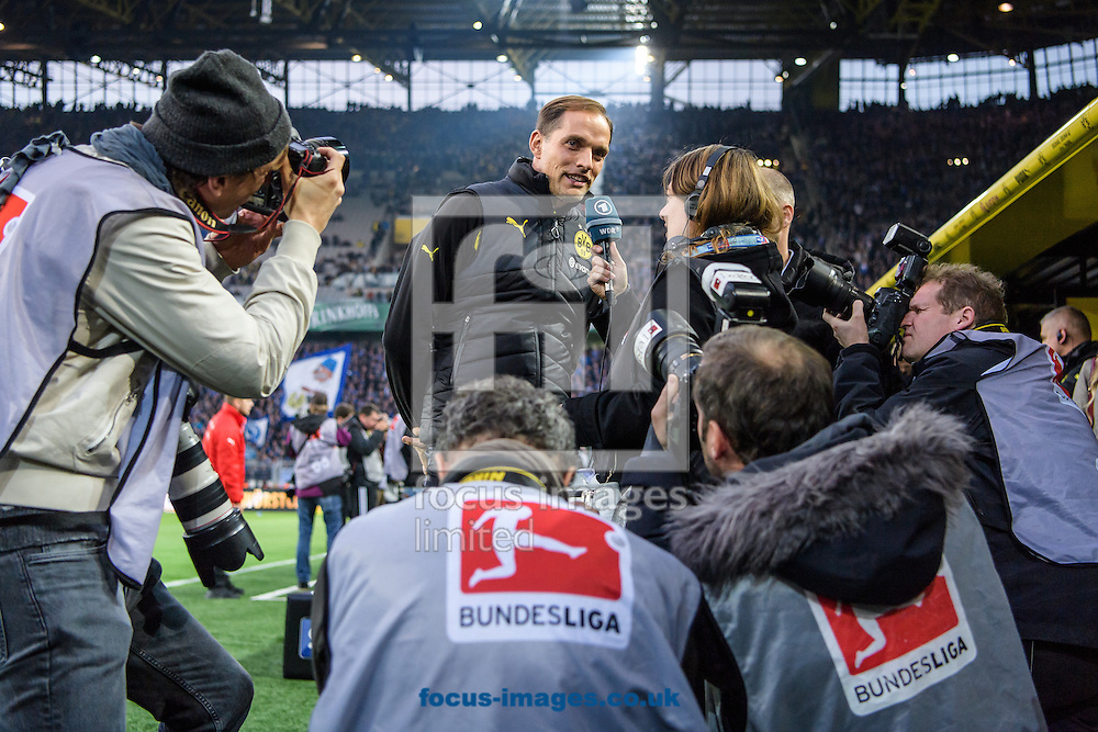 Thomas Tuchel, head coach of Borussia Dortmund during the Bundesliga match at Signal Iduna Park, Dortmund<br /> Picture by EXPA Pictures/Focus Images Ltd 07814482222<br /> 29/10/2016<br /> *** UK &amp; IRELAND ONLY ***<br /> EXPA-EIB-161030-0015.jpg