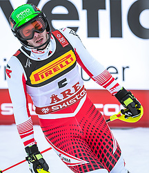 17.02.2019, Aare, SWE, FIS Weltmeisterschaften Ski Alpin, Slalom, Herren, 2. Lauf, im Bild Michael Matt (AUT) // Michael Matt of Austria reacts after his 2nd run of men's Slalom of FIS Ski World Championships 2019. Aare, Sweden on 2019/02/17. EXPA Pictures © 2019, PhotoCredit: EXPA/ Dominik Angerer