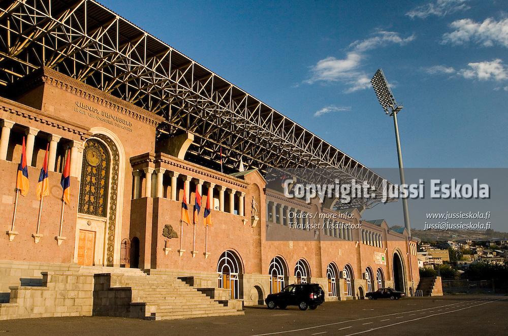 Suomen A-maajoukkueen harjoitukset, Jerevan, Armenia 6.10.2006.&amp;#xA;Photo: Jussi Eskola<br />