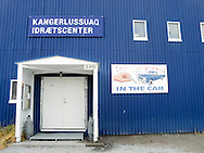 Sports center in Kangerlussauq, Greenland
