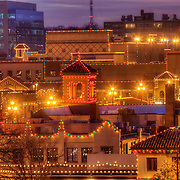 Plaza Lights - Country Club Plaza lit up for the Christmas/holiday season, Kansas City, Missouri.