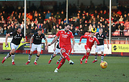 Crawley Town v Lincoln City 17/02/2018