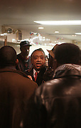 Rev. Al, Sharpton at Sylvia's Restuarant, where a gathering of Influential African-American Politicians called by Rev. Al Sharpton,  decide resolution of the fate of Governor David Patterson on March 4, 2010 in Harlem, New York City.
