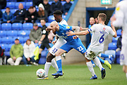 Peterborough Utd forward Marcus Maddison (21) bursts through during the EFL Sky Bet League 1 match between Peterborough United and Coventry City at London Road, Peterborough, England on 16 March 2019.