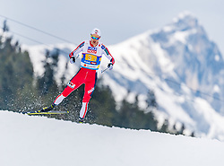 02.03.2019, Seefeld, AUT, FIS Weltmeisterschaften Ski Nordisch, Seefeld 2019, Nordische Kombination, Langlauf, Team Bewerb 4x5 km, im Bild Jan Schmid (NOR) // Jan Schmid of Norway during the Cross Country Team competition 4x5 km of Nordic Combined for the FIS Nordic Ski World Championships 2019. Seefeld, Austria on 2019/03/02. EXPA Pictures © 2019, PhotoCredit: EXPA/ Stefan Adelsberger