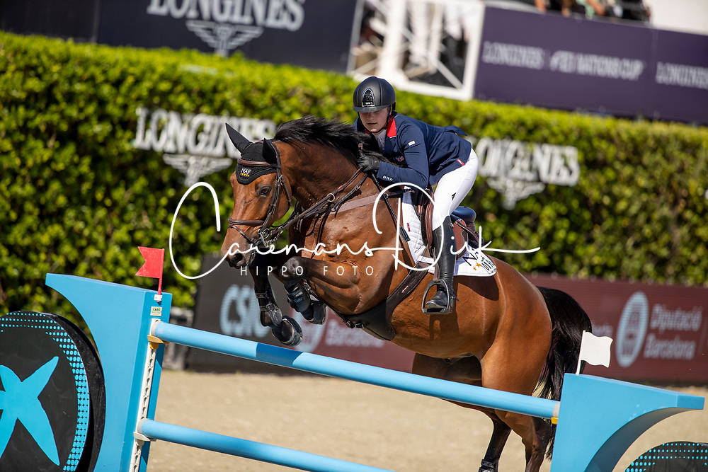 Moffitt Emily, GBR, Winning Good<br /> FEI Jumping Nations Cup Final<br /> Barcelona 2019<br /> © Hippo Foto - Dirk Caremans<br />  03/10/2019