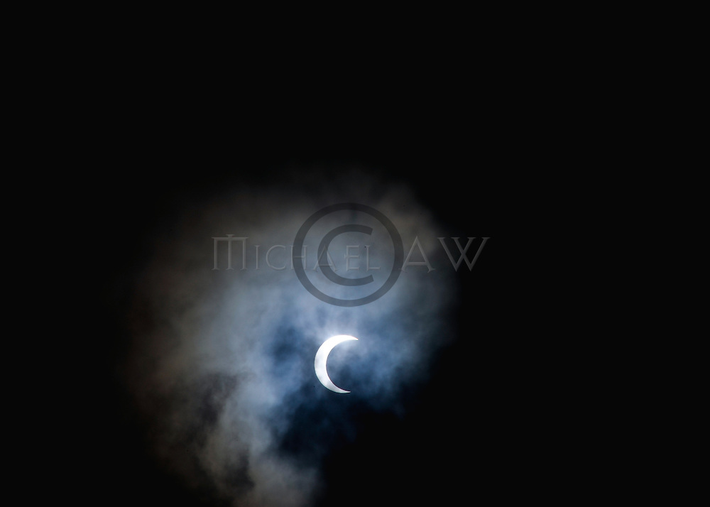 Maldives, solar eclipse 15 January