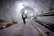 A subway tunnel being built as part of the extension of the 7 line of the New York subway system. The tunnel and the 34th street station is well on its way to be finished. A proposed extension to New Jersey is in the talks.
