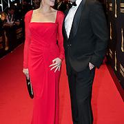 NLD/Utrecht/20121005- Gala van de Nederlandse Film 2012, Kim van Kooten en partner Jacob Derwig