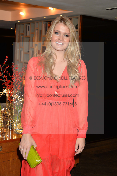 LONDON, ENGLAND 2 DECEMBER 2016: <br /> Lady Kitty Spencer at a breakfast attended by a host of influencers, press and VIPs to celebrate the official launch of EVARAE the new British luxury resort wear brand, held at The Hari Hotel, 20 Chesham Place, London.  England. 2 December 2016.