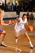DESCRIZIONE : Chieti Italy Italia Eurobasket Women 2007 Italia Russia Italy Russia<br /> GIOCATORE : Laura Macchi<br /> SQUADRA : Italia Italy<br /> EVENTO : Eurobasket Women 2007 Campionati Europei Donne 2007<br /> GARA : Italia Russia Italy Russia<br /> DATA : 24/09/2007<br /> CATEGORIA : Palleggio<br /> SPORT : Pallacanestro <br /> AUTORE : Agenzia Ciamillo-Castoria/E.Castoria<br /> Galleria : Eurobasket Women 2007<br /> Fotonotizia : Chieti Italy Italia Eurobasket Women 2007 Italia Russia Italy Russia<br /> Predefinita :