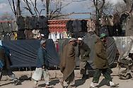 Afghanistan. Kabul. women in burqua , city center street life