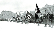 Winter rally of Nazi party members in Munich, 1922