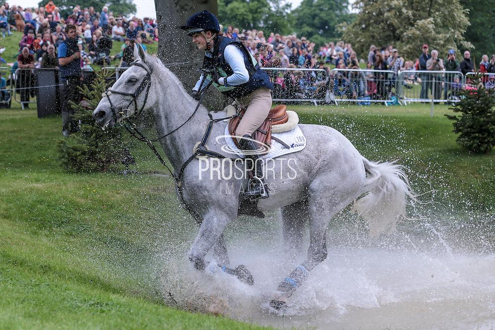 STRAIGHT CHOICE ridden by Melissa Townshend at Bramham International Horse Trials 2016 at  at Bramham Park, Bramham, United Kingdom on 11 June 2016. Photo by Mark P Doherty.