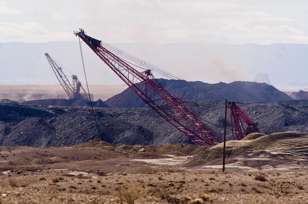 navajo coal mine new mexico photographer brian leddy 712 899 7245
