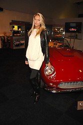 PETRA ECCLESTONE at a preview of a forthcoming sale of cars from the Bernie Ecclestone Car Collection held at Battersea Evolution, Battersea Park, London SW11 on 30th October 2007.<br />
