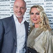 NLD/Amsterdam/20130916 - Linda Magazine bestaat 10 jaar, Mart Visser en Jildou van der Bijl