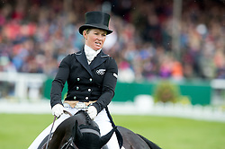Price Jonelle, (NZL), The Deputy<br /> Dressage <br /> Mitsubishi Motors Badminton Horse Trials - Badminton 2015<br /> © Hippo Foto - Jon Stroud<br /> 08/05/15