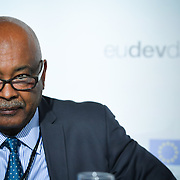 20160615 - Brussels , Belgium - 2016 June 15th - European Development Days - Impact investing for Africa - EABF Workshop - Kebour Ghenna , Executive Director , Pan African Chamber of Commerce and Industry - Moderator © European Union
