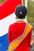Nina van Enckevort - Darc du Rona Z Nederlands Kampioen Childeren<br /> CH Mierlo 2016<br /> © DigiShots