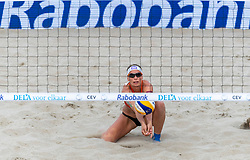 20-07-2018 NED: CEV DELA Beach Volleyball European Championship day 6<br /> Sanne Keizer NED #1