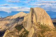 Half Dome from Glacier Point in Yosemite National Park