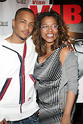 l to r: T. I. and Danyel Smith at The Vibe Magazine private reception in honor of Grammy Award winning Superstar artist and actor, T.I held at The Eldrige on February 9, 2009 in New York City