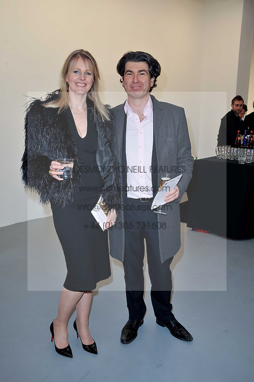 OCTAVIUS & JOANNA BLACK at the Hopes & Dreams Private View - a film installation by Gerry Fox for The Hoping Foundation held at Sadie Coles Gallery, 4 New Burlington Place, London