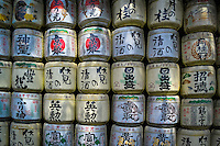 When displayed near a Shinto shrine, sake barrels are known as 'kazaridaru', which means &ldquo;decoration barrels.&rdquo; The barrels on display are empty, at least in physical terms. Spiritually, they&rsquo;re chock full of significance.<br />