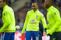 Fabinho  - 26.03.2015 - France / Bresil - Match Amical<br />