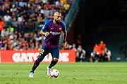Arturo Vidal of FC Barcelona during the Spanish championship La Liga football match between FC Barcelona and Huesca on September 2, 2018 at Camp Nou Stadium in Barcelona, Spain - Photo Xavier Bonilla / Spain ProSportsImages / DPPI / ProSportsImages / DPPI