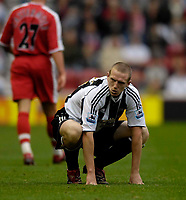 Photo: Jed Wee.<br /> Middlesbrough v Newcastle United. The Barclays Premiership. 22/10/2006.<br /> <br /> Newcastle's Peter Ramage.