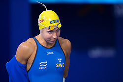 August 7, 2018 - Glasgow, UNITED KINGDOM - 180807 Magdalena Kuras of Sweden in the qualification of women's 100 meter freestyle swimming during the European Championships on August 7, 2018 in Glasgow..Photo: Joel Marklund / BILDBYRN / kod JM / 87770 (Credit Image: © Joel Marklund/Bildbyran via ZUMA Press)