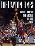 Dayton Times Cover_UDMBB_2015-2016