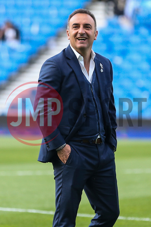 Sheffield Wednesday Manager Carlos Carvalhal - Mandatory by-line: Jason Brown/JMP - 16/05/2016 - FOOTBALL - Amex Stadium - Brighton, England - Brighton and Hove Albion v Sheffield Wednesday - Sky Bet Championship Play-off Semi-final second leg