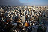 Cityscape of Tokyo.