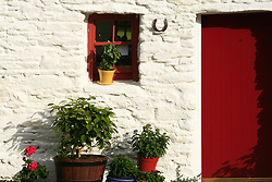 July 21, 2019 - Traditional Farm Door, Dingle, County Kerry, Ireland (Credit Image: © Peter Zoeller/Design Pics via ZUMA Wire)
