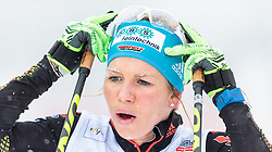 21.02.2016, Salpausselkae Stadion, Lahti, FIN, FIS Weltcup Langlauf, Lahti, Damen Skiathlon, im Bild Sandra Ringwald (GER) // Sandra Ringwald of Germany during Ladies Skiathlon FIS Cross Country World Cup, Lahti Ski Games at the Salpausselkae Stadium in Lahti, Finland on 2016/02/21. EXPA Pictures © 2016, PhotoCredit: EXPA/ JFK