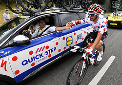 July 29, 2018 - Paris Champs-Elysees, France - PARIS CHAMPS-ELYSEES, FRANCE - JULY 29 : ALAPHILIPPE Julian (FRA) of Quick - Step Floors  during stage 21 of the 105th edition of the 2018 Tour de France cycling race, a stage of 116 kms between Houilles and Paris Champs-Elysees on July 29, 2018 in Paris Champs-Elysees, France, 29/07/18 (Credit Image: © Panoramic via ZUMA Press)