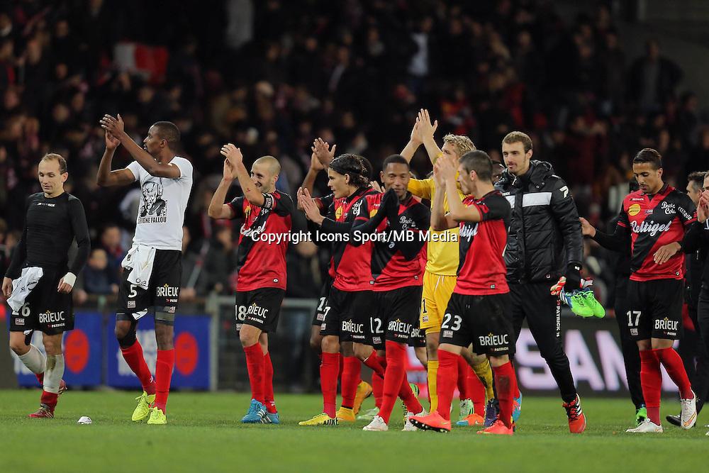 JOIE GUINGAMP   - 14.12.2014 - Guingamp / PSG - 18eme journee de Ligue1<br />Photo : Vincent Michel / Icon Sport