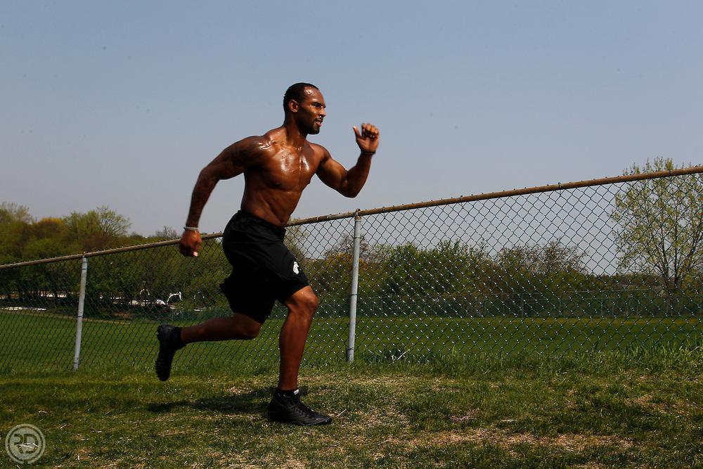 Matt Forte.for Sweat Spot.Tuesday, May 10, 2011..Photograph by Ross Dettman