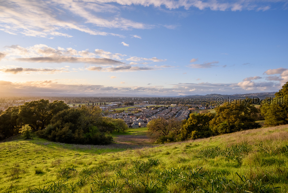 Cooper Creek area of Santa Rosa, California.