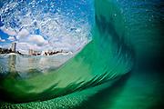 Wave goes through unridden at Coolangatta beach on September 25th, 2012 on the Gold Coast, Queensland, Australia. Photo: Matt Roberts/mattrimages.com.au