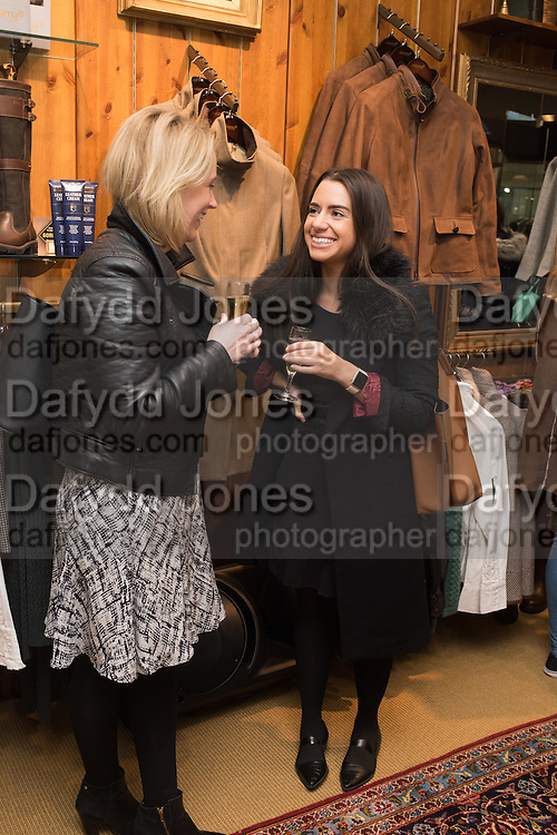 MELISSA BINDON; JANE MURPHY, Tatler and Dubarry host an evening with Clare Balding, Dubarry of Ireland, 34 Duke of York's Sq. London. 13 October 2016.