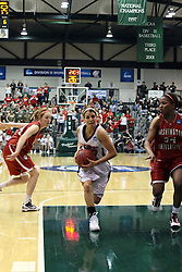 20 March 2010: Liz Ellis strolls down the lane practically unnoticed. The Flying Dutch of Hope College fall to the Bears of Washington University 65-59 in the Championship Game of the Division 3 Women's NCAA Basketball Championship the at the Shirk Center at Illinois Wesleyan in Bloomington Illinois.